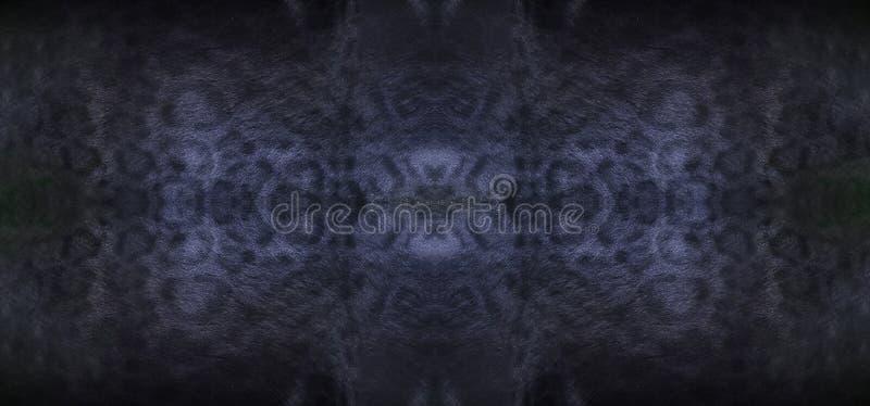 Μαύρη σύσταση δερμάτων πάνθηρων στοκ φωτογραφίες