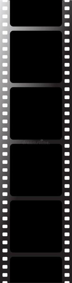μαύρη ταινία απεικόνιση αποθεμάτων