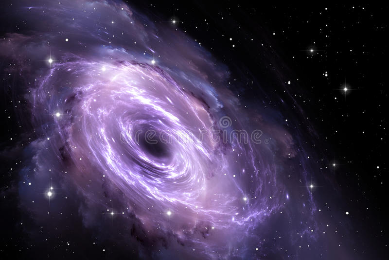 Μαύρη τρύπα στο νεφέλωμα, βαρύτητας τομέας απεικόνιση αποθεμάτων