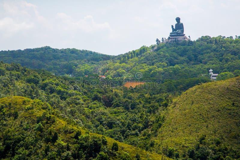 Μαύρισμα Βούδας Tian στο Χογκ Κογκ στοκ φωτογραφίες με δικαίωμα ελεύθερης χρήσης
