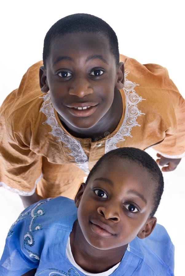 μαύροι σπουδαστές στοκ εικόνα