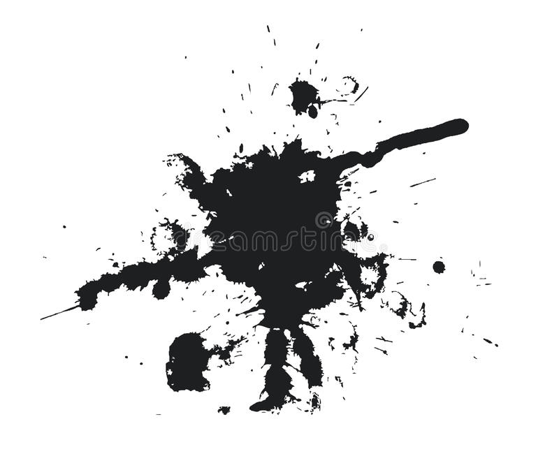 μαύρος λεκές απεικόνιση αποθεμάτων