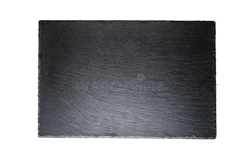 Μαύρος πίνακας πλακών που απομονώνεται στοκ φωτογραφίες με δικαίωμα ελεύθερης χρήσης