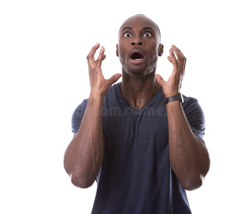 Μαύρος που φοβάται όμορφος στοκ φωτογραφία με δικαίωμα ελεύθερης χρήσης