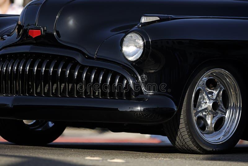 μαύρος τρύγος σχαρών αυτοκινήτων κλασικός στοκ φωτογραφίες με δικαίωμα ελεύθερης χρήσης
