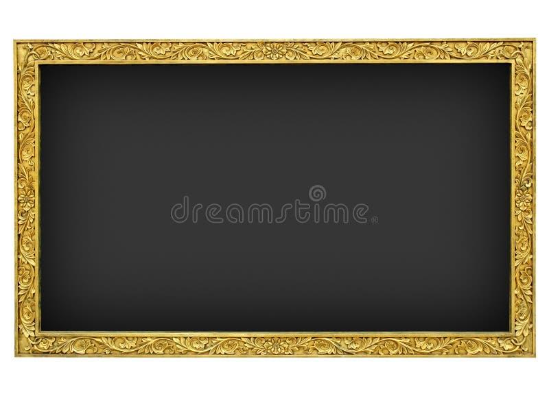 μαύρος χρυσός γρανίτης πλ&alp στοκ εικόνα