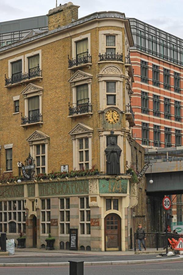 Μαύρος Friar Λονδίνο στοκ εικόνα με δικαίωμα ελεύθερης χρήσης