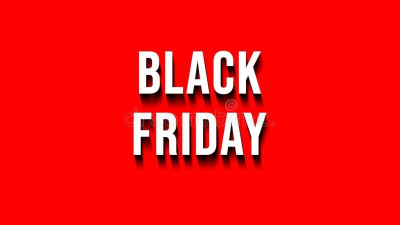 Μαύρο έμβλημα πώλησης Παρασκευής στο διαφανές υπόβαθρο στοκ εικόνα