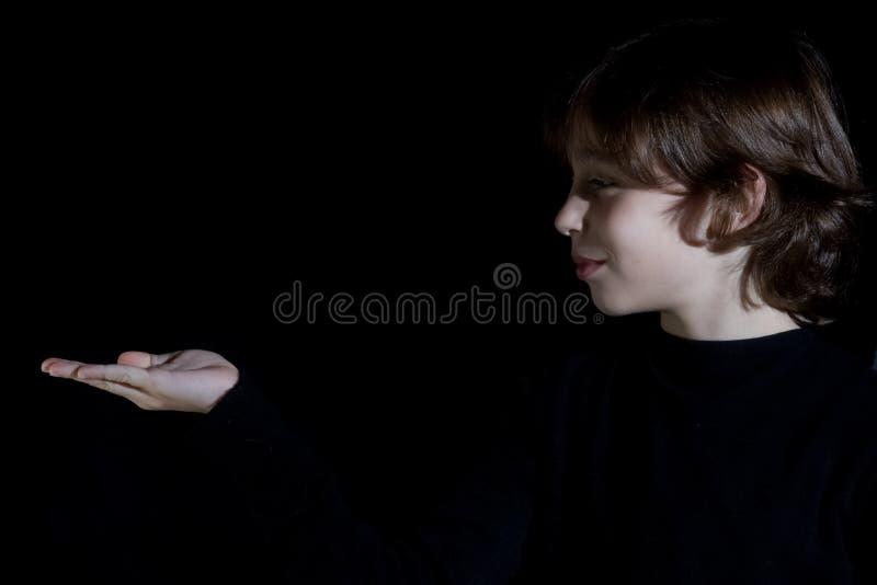 μαύρο αγόρι στοκ φωτογραφία με δικαίωμα ελεύθερης χρήσης