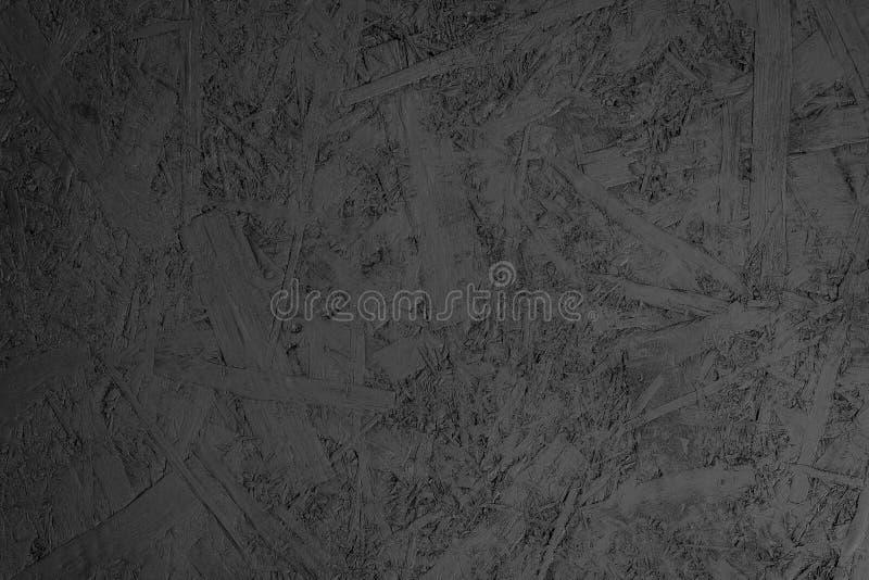 Μαύρο απλό κατασκευασμένο σχέδιο υποβάθρου, μαύρο ξύλινο δέρμα στοκ εικόνες