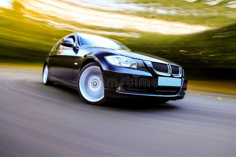 Μαύρο αυτοκίνητο πολυτέλειας στοκ φωτογραφία με δικαίωμα ελεύθερης χρήσης