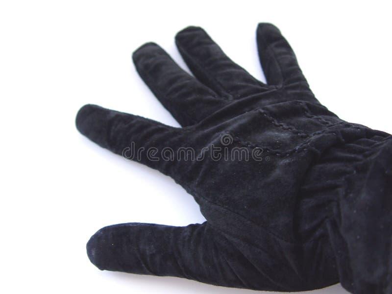 μαύρο γάντι Στοκ Εικόνες