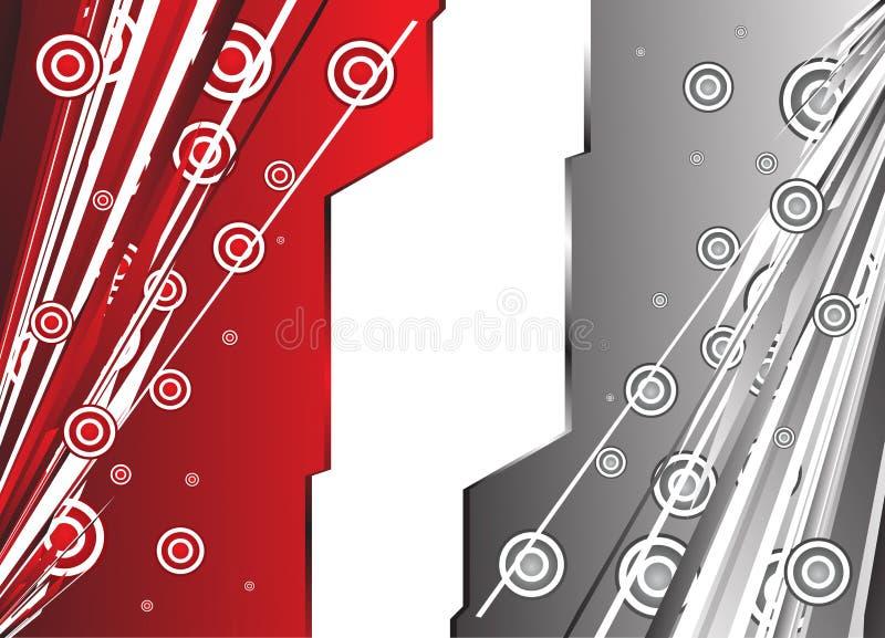 μαύρο γεια κόκκινο λευ&kapp απεικόνιση αποθεμάτων