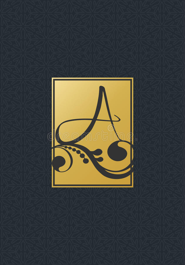 Μαύρο γκρίζο χρυσό σχέδιο του υποβάθρου Στοιχεία, ετικέτες, πλαίσια για τη συσκευασία Σχέδιο για τα Χριστούγεννα ή το προϊόν καλλ διανυσματική απεικόνιση