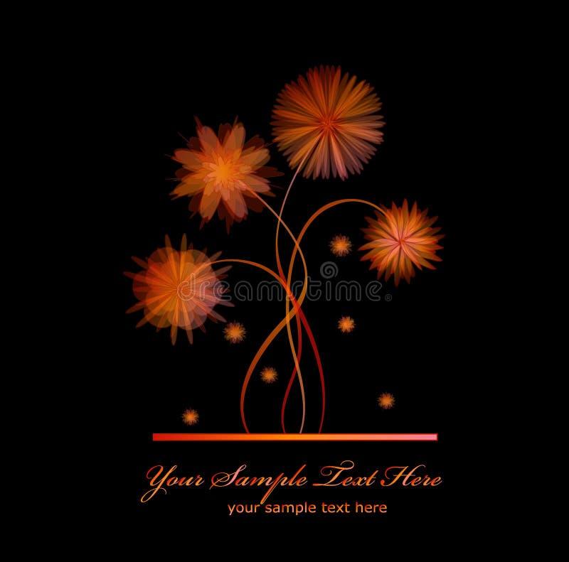 μαύρο διάνυσμα λουλου&delt απεικόνιση αποθεμάτων