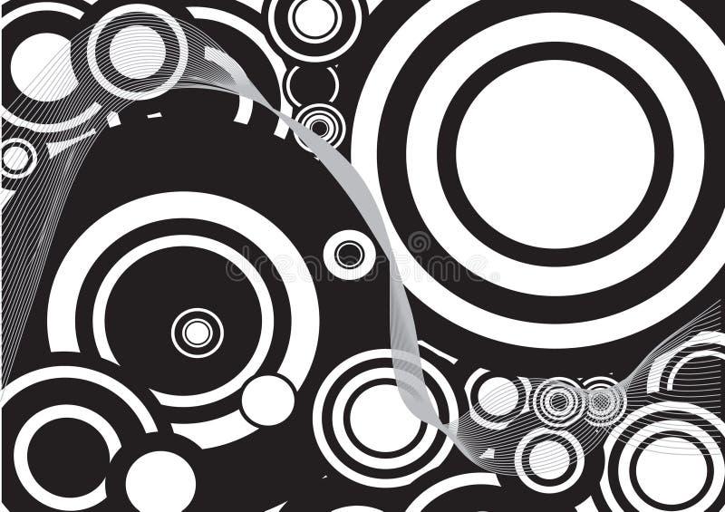 μαύρο διακοσμητικό λευ&kapp απεικόνιση αποθεμάτων