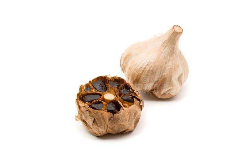 μαύρο ζυμωνομμένο σκόρδο στοκ φωτογραφία με δικαίωμα ελεύθερης χρήσης
