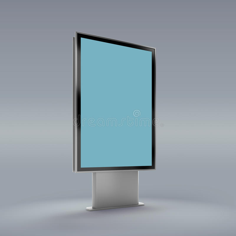 Μαύρο κάθετο γυρισμένο πρότυπο οργάνων ελέγχου ελεύθερη απεικόνιση δικαιώματος