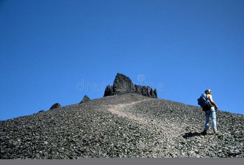Download μαύρο κέρατο οδοιπόρων στ&om Στοκ Εικόνα - εικόνα από καλοκαίρι, βουνό: 396717