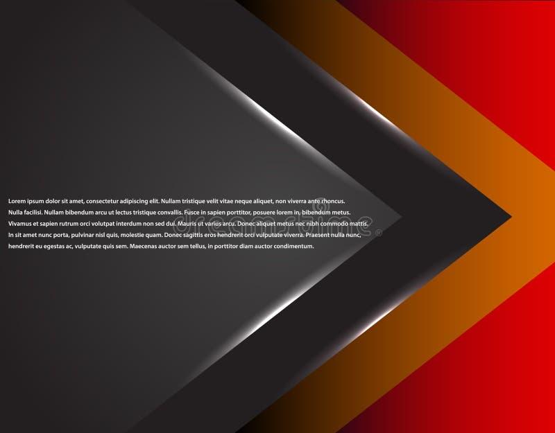 Μαύρο και κόκκινο εταιρικό ριγωτό γραφικό σχέδιο τεχνολογίας glowing lines Ζωηρόχρωμο θέμα απεικόνιση αποθεμάτων