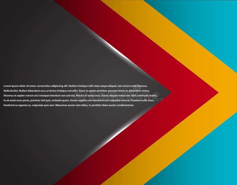 Μαύρο και κόκκινο εταιρικό ριγωτό γραφικό σχέδιο τεχνολογίας glowing lines Ζωηρόχρωμο θέμα ελεύθερη απεικόνιση δικαιώματος