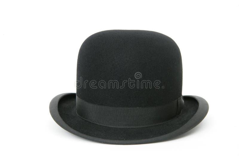 μαύρο καπέλο σφαιριστών στοκ φωτογραφίες
