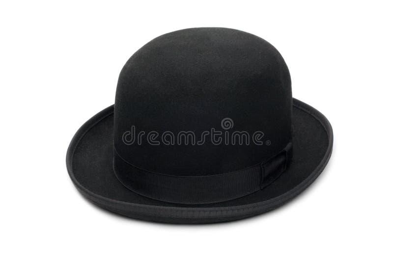 μαύρο καπέλο σφαιριστών στοκ εικόνα με δικαίωμα ελεύθερης χρήσης