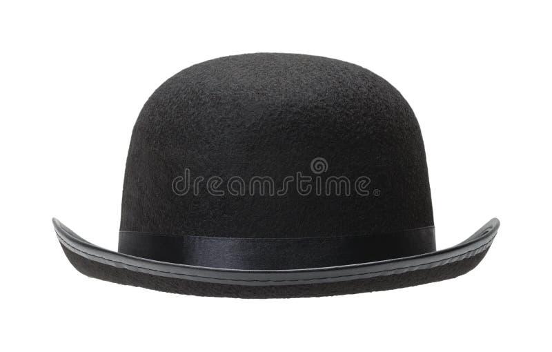 μαύρο καπέλο σφαιριστών στοκ φωτογραφία