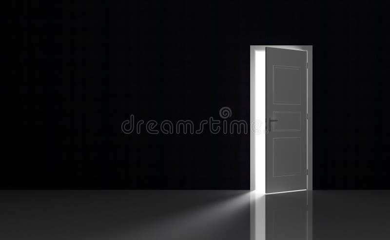 μαύρο κενό δωμάτιο ελεύθερη απεικόνιση δικαιώματος