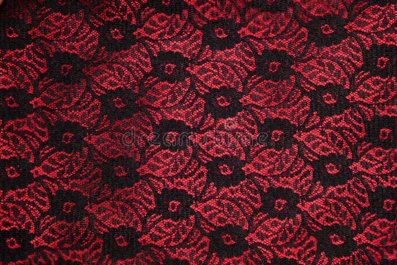 μαύρο κόκκινο σατέν δαντε&lam στοκ φωτογραφία με δικαίωμα ελεύθερης χρήσης