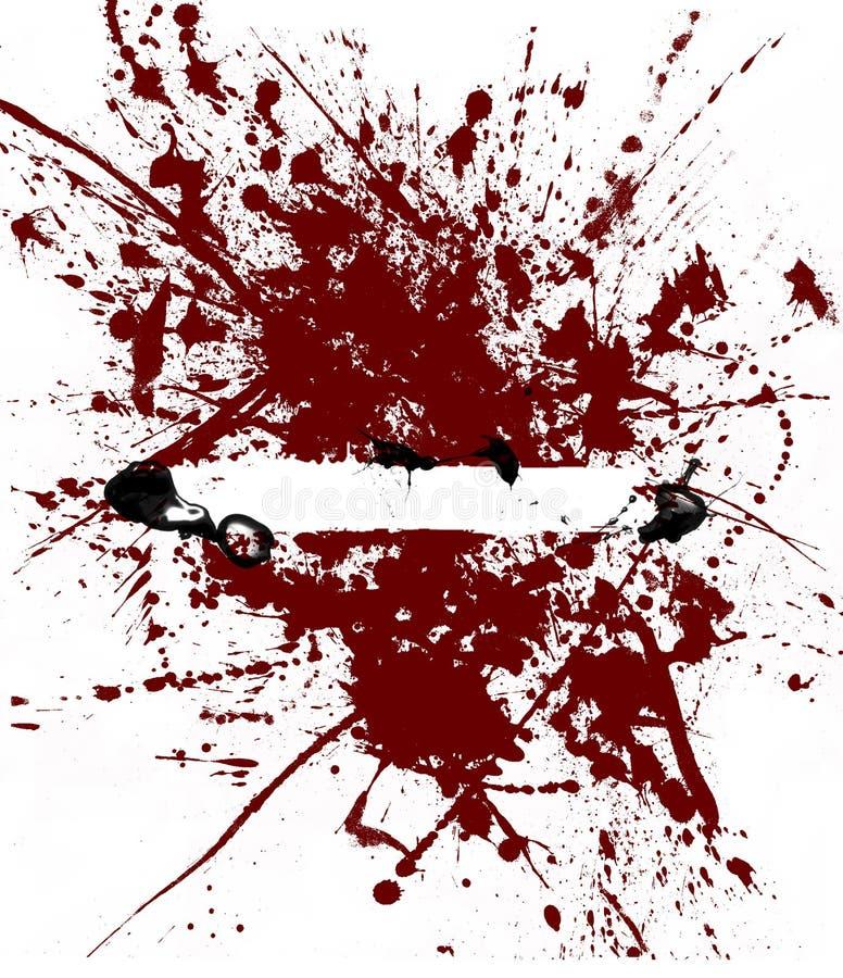 μαύρο κόκκινο ελεύθερη απεικόνιση δικαιώματος