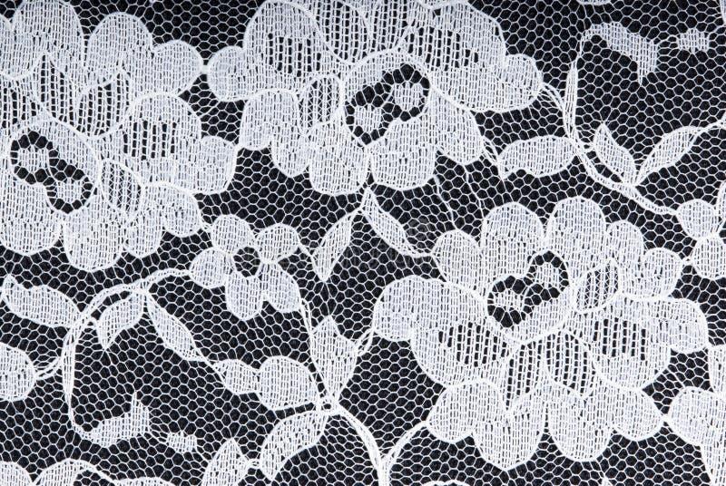 μαύρο λευκό δαντελλών αν&al στοκ φωτογραφία
