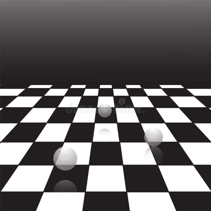 μαύρο λευκό ελεγκτών ελεύθερη απεικόνιση δικαιώματος