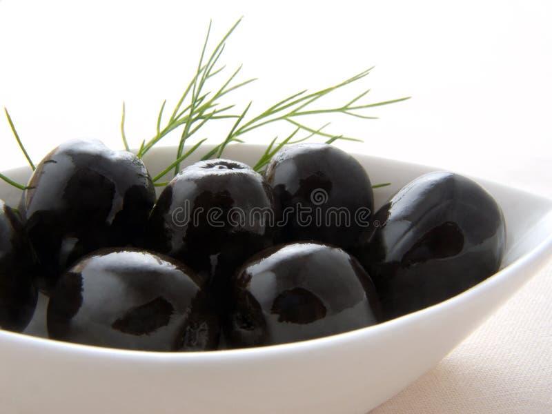 μαύρο λευκό ελιών κύπελλων στοκ φωτογραφία με δικαίωμα ελεύθερης χρήσης
