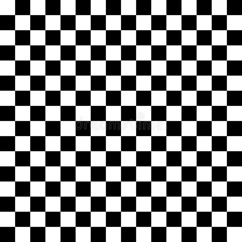 μαύρο λευκό κεραμιδιών διανυσματική απεικόνιση