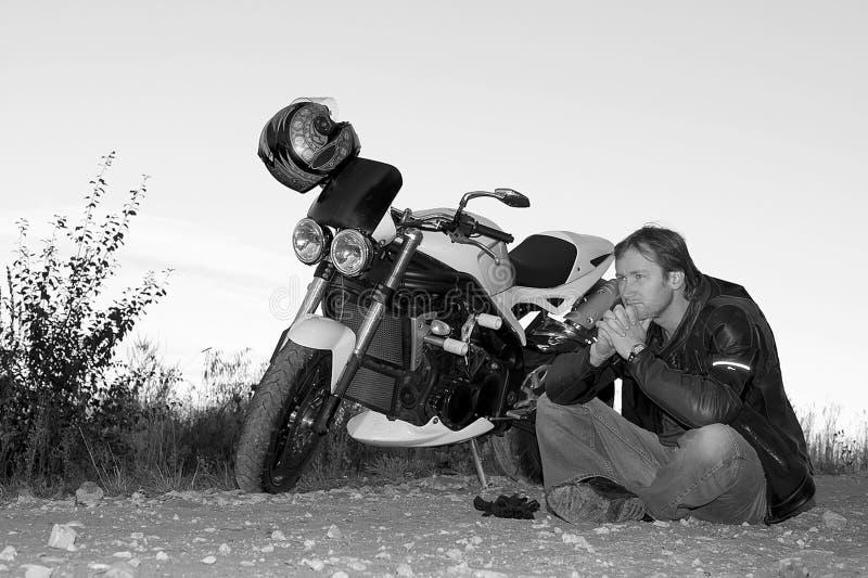μαύρο λευκό πορτρέτου πο&d στοκ φωτογραφία με δικαίωμα ελεύθερης χρήσης