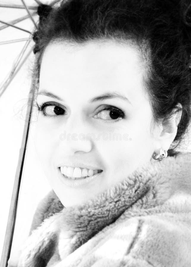 Download μαύρο λευκό πορτρέτου στοκ εικόνα. εικόνα από ξένοιαστος - 62109