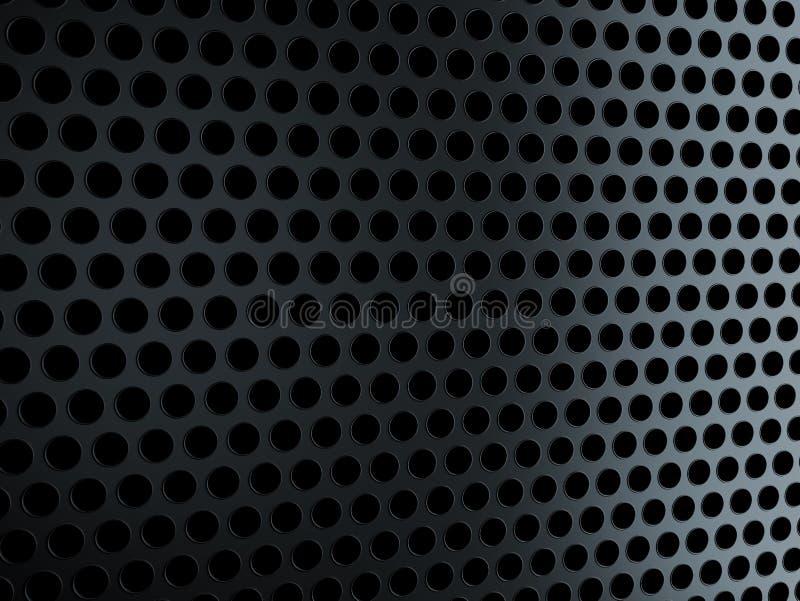 μαύρο μέταλλο σχαρών απεικόνιση αποθεμάτων