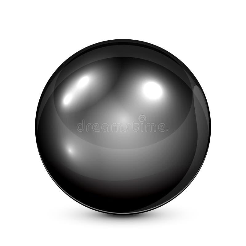 μαύρο μαργαριτάρι ελεύθερη απεικόνιση δικαιώματος