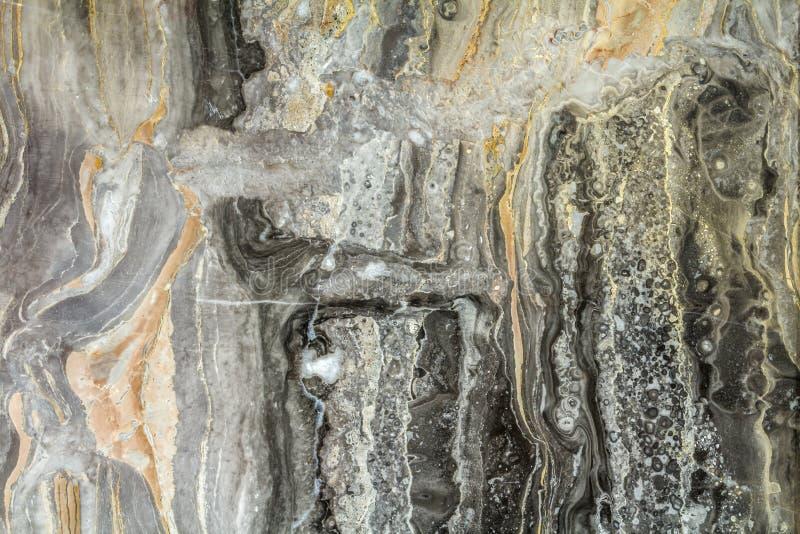Μαύρο μαρμάρινο αφηρημένο σχέδιο υποβάθρου με τη υψηλή ανάλυση Τρύγος ή grunge υπόβαθρο της φυσικής σύστασης τοίχων πετρών παλαιά στοκ φωτογραφία