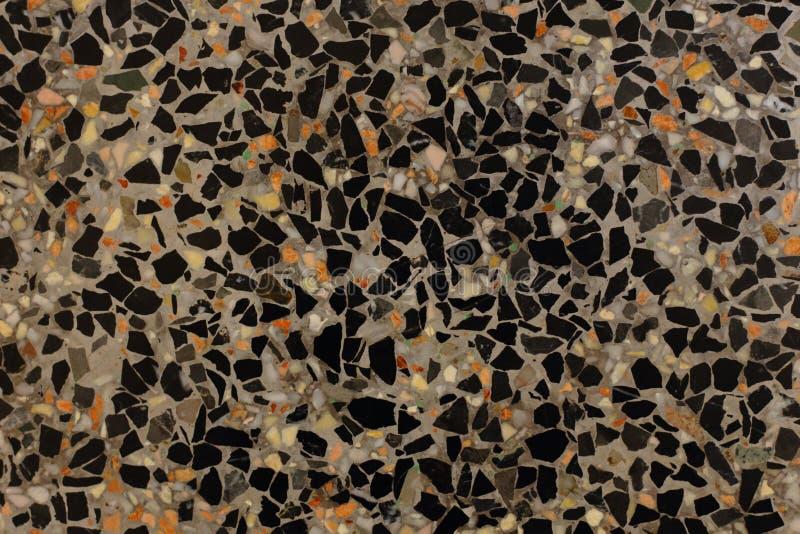 Μαύρο μαρμάρινο υπόβαθρο και πολλά χρώματα στοκ εικόνες