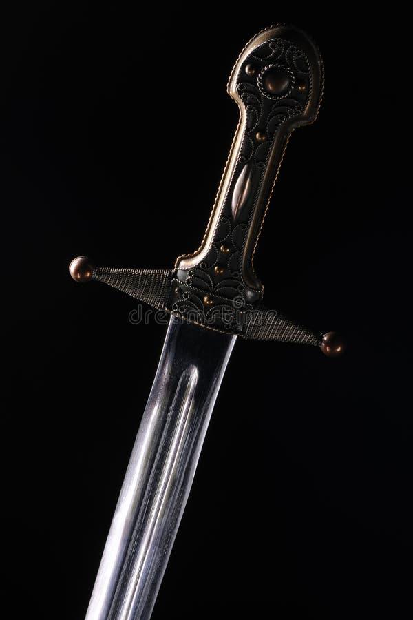 μαύρο μαχαίρι ανασκόπησης στοκ εικόνα με δικαίωμα ελεύθερης χρήσης