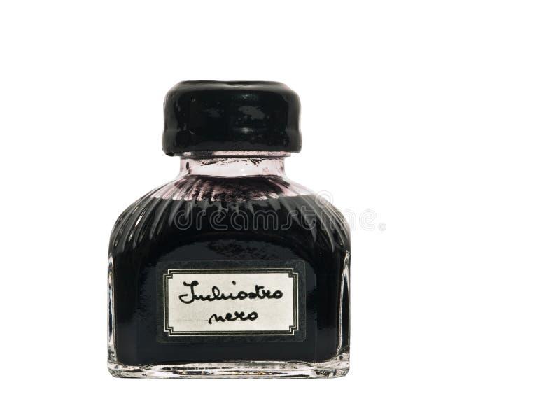 μαύρο μελάνι παλαιό καλά στοκ εικόνες με δικαίωμα ελεύθερης χρήσης