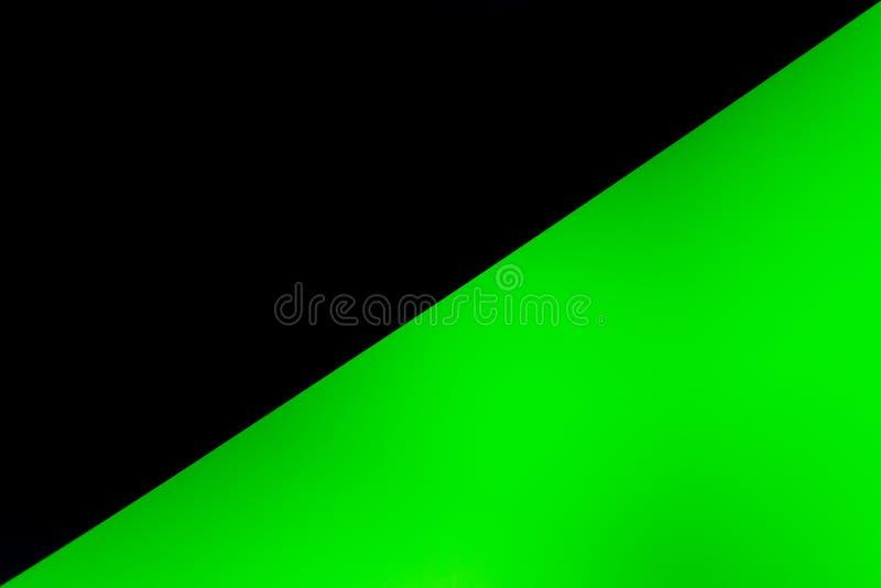 Μαύρο μισό πράσινο κενό διάστημα σύστασης υποβάθρου στοκ φωτογραφία με δικαίωμα ελεύθερης χρήσης
