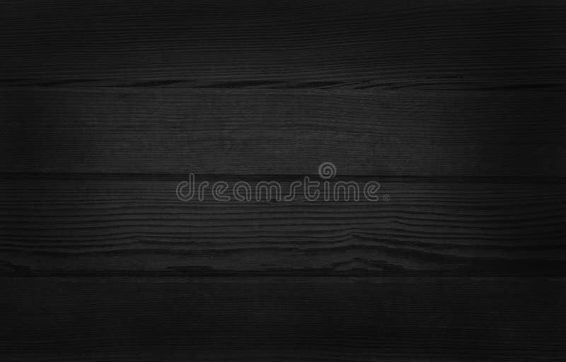 Μαύρο ξύλινο υπόβαθρο τοίχων, σύσταση του σκοτεινού ξύλου φλοιών με το παλαιό φυσικό σχέδιο για την εργασία τέχνης σχεδίου, τοπ ά στοκ φωτογραφία