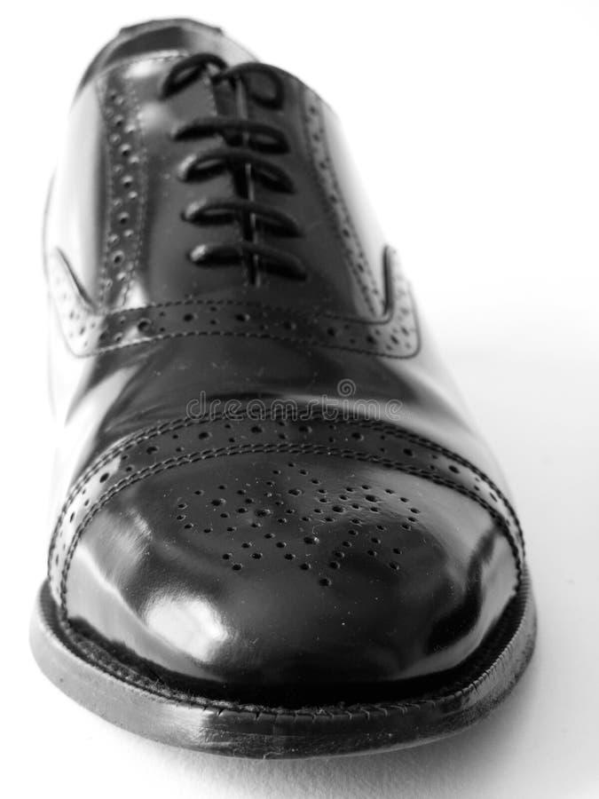 μαύρο παπούτσι στοκ εικόνα