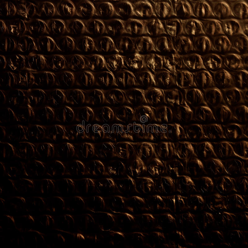 Μαύρο περικάλυμμα φυσαλίδων στοκ εικόνα με δικαίωμα ελεύθερης χρήσης