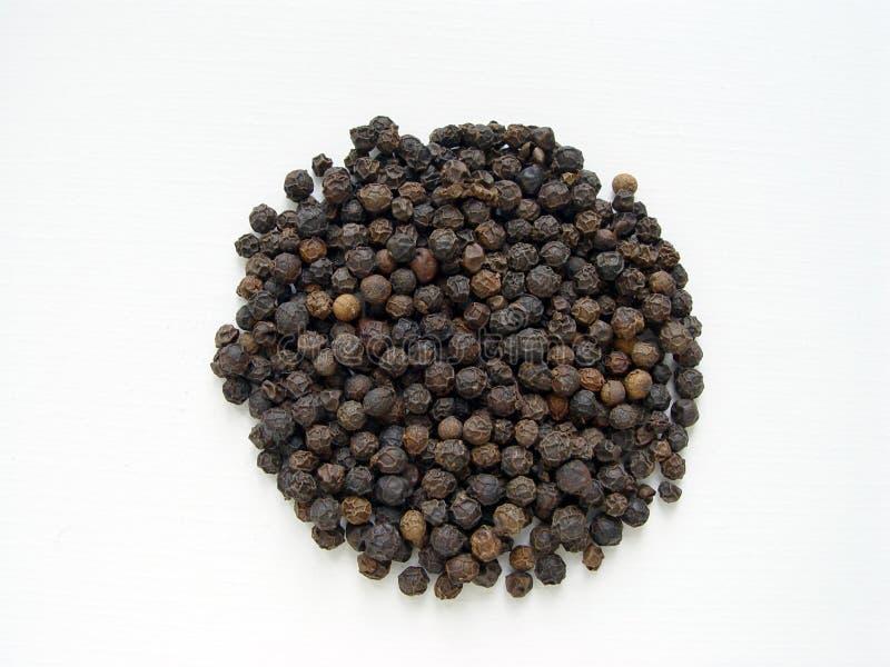 Download μαύρο πιπέρι στοκ εικόνες. εικόνα από ξηρός, συστατικό - 391892