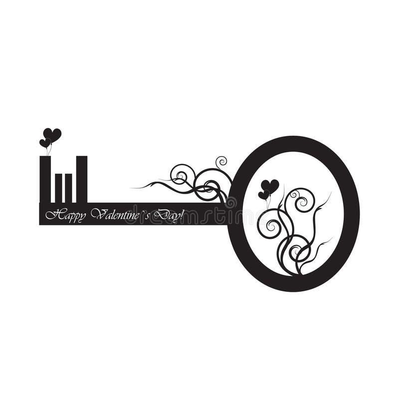 μαύρο πλήκτρο σχεδίου απεικόνιση αποθεμάτων
