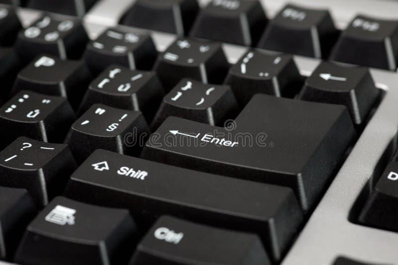 μαύρο πληκτρολόγιο υπο&lambd στοκ φωτογραφίες